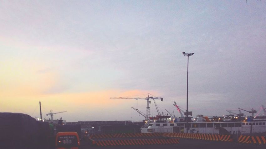 Early Morning at the Docks. Ships Ferryboat Sunrise Taking Photos My Smartphone Life My Adventure Share Your Adventure