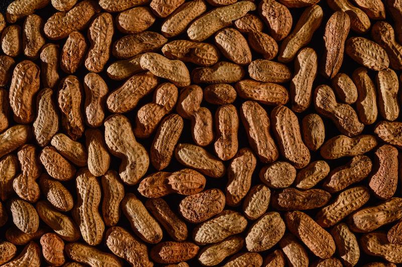Full frame shot of groundnuts