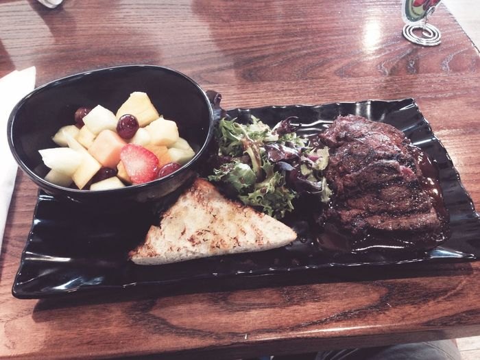 Steak at Fresh to Order
