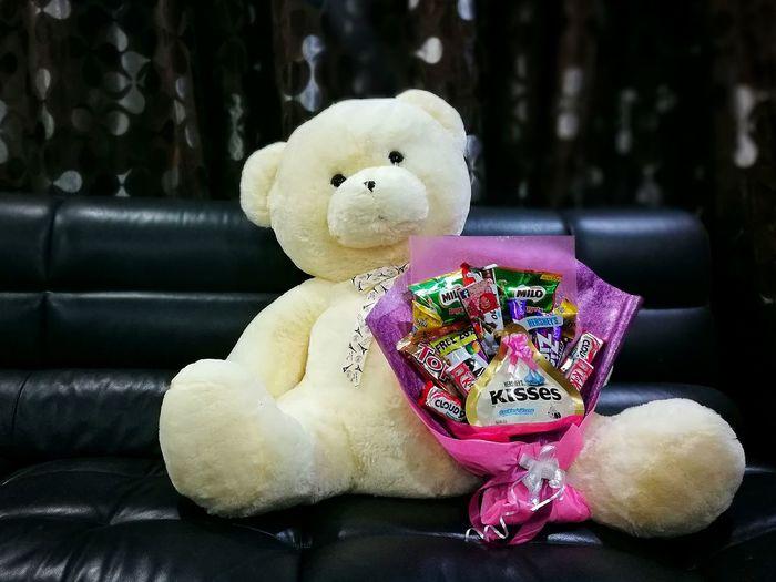 Bouquet Chocolate Teddybear Teddy Love