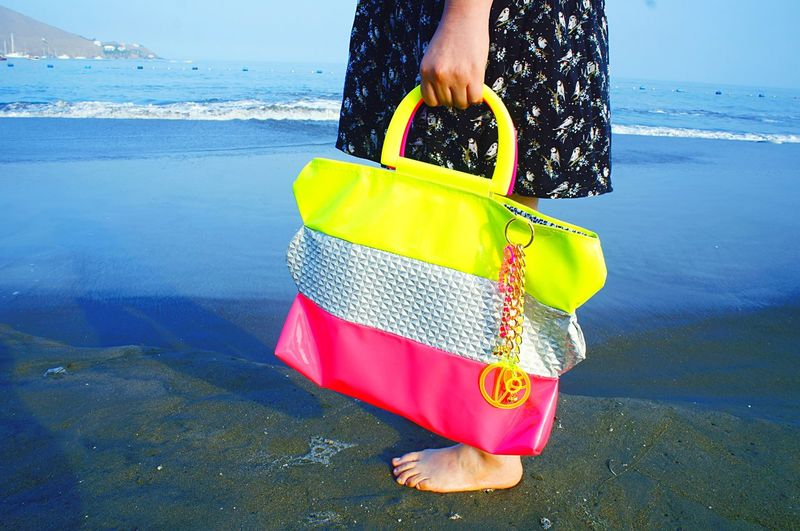 👙🍭 Cute sister holding my tote👯 Beach Cute Sister Tote Enjoying Life Taking Photos Hello World Plasticbomb Fluo  Check This Out Design Handmade Bags EyeEm Nature Lover EyeEm Gallery EyeCandy  Laviniafenton Art Fentoncolors