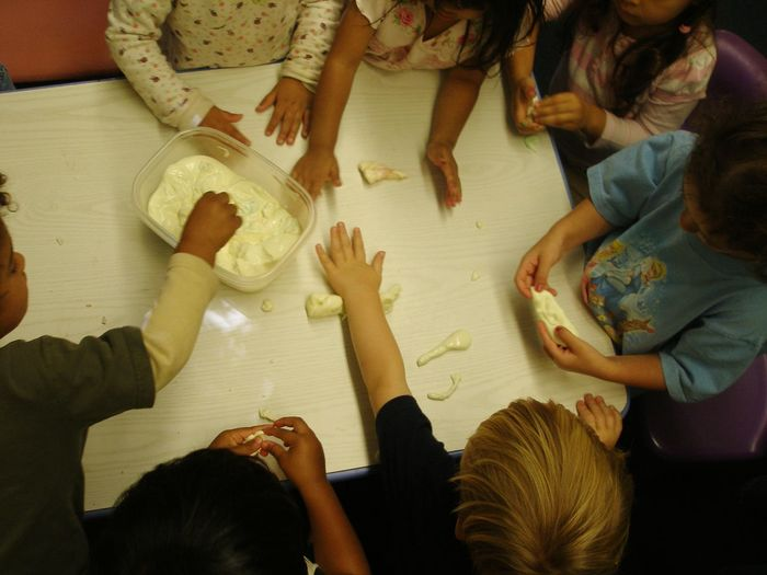 Slime Hands Childhood Arts And Crafts Play Friendship Human Hand Fun High Angle View