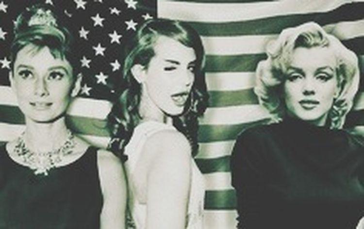 Audrey Hepburn Marylin Monroe Lana Del Rey ?????? E.U