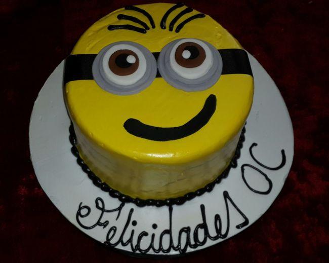 Minions Birthday Cake I Love Minions The Minions :) Yelowcake Banana Bananas Beatiful Pastel Colors Minions The Minions Movies