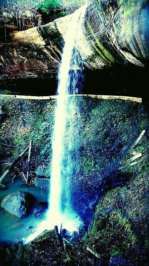Broke Leg Falls Water Close-up Waterfall Flowing Water Rapid Falling Water Power In Nature