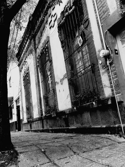 Blackandwhite Followme Architecture Coyoacán CDMX. Mexico City