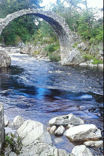 Scotland No People Old Bridge And Water Travel Beauty In Nature Outdoors Beautiful View
