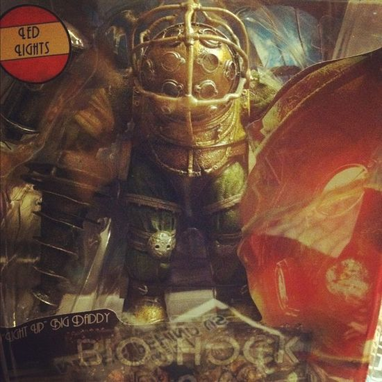 My baby came in :3 Bioshock Bioshock2 Bigdaddy Bouncer videogames