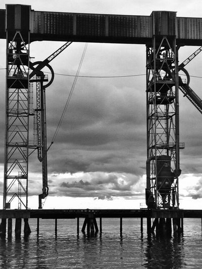 Don't define your world in black & white, because there is so much more hiding amongst the greys. Power In Nature Sky Built Structure Day Outdoors Water Architecture No People