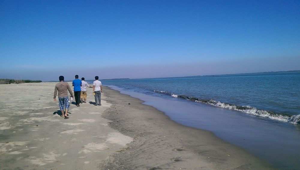 On The Beach Cox's Bazar Sonadia Island