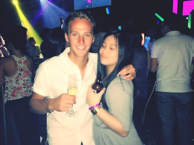 Clubbing Party Drinks Friends