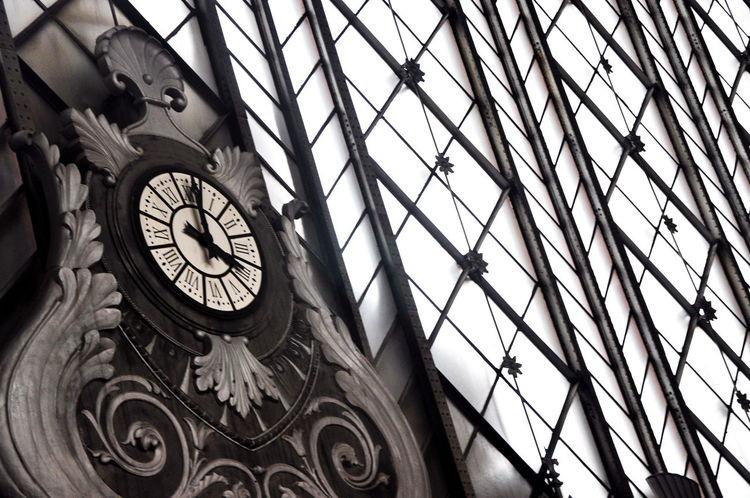 Reloj Reloj Monumental Reloj Publico Reloj Arquitectura Madrid Spain Madrid España SPAIN Atocha Train Station Train_of_our_world