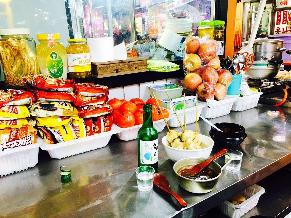 포장마차소주 / iphone6s+ Soju Pojangmacha Food Alcohol Korea Loopin