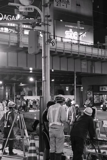 Taking Photos Streetphotography Point Of View Constructions Inspired Peaple Photography Urban Lifestyle Tokyo,Japan Contrast Work Blackandwhite