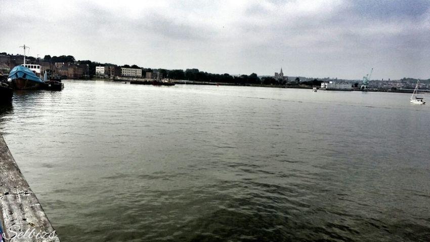 Taking Photos River Medway Riverside Relaxing