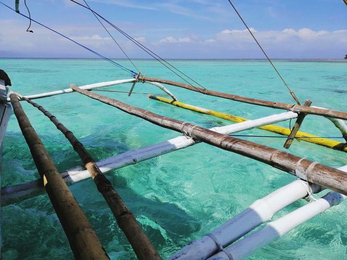 Water Sea Fishing Net Nautical Vessel Sky Horizon Over Water