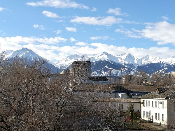 EyeEm Selects Mountain Day Workday Almatymountains Almaty City Almaty1love Almaty, Kazakhstan Sky Colour Your Horizn