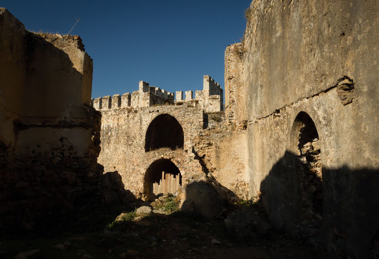 Mamure Castle Historical Sights Mamure Castle Mamure Kalesi Mediterranean  Mediterranean Sea Rock Turkey Anamur Ancient Arch Architecture Archtitecture Building Exterior Built Structure Byzantine History Low Angle View Nature Old Ruin Outdoors Roman Sky Stone Structure Travel Destinations