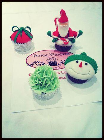 No os enseñé los cupcakes del curso del domingo en Dulce Victoria :)