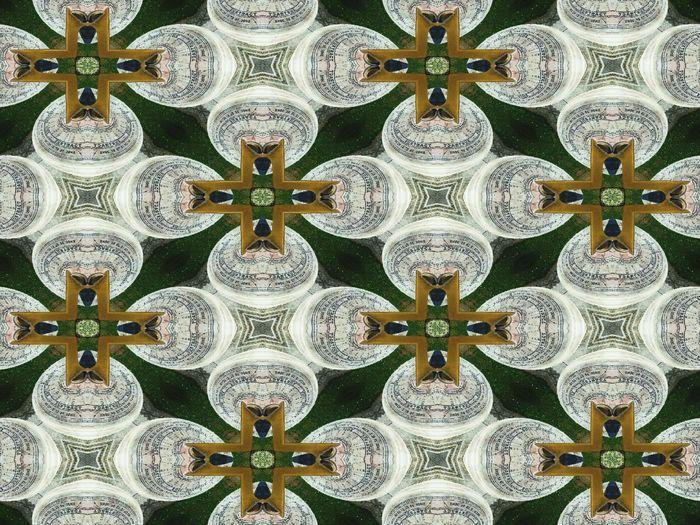 Kaledescope Pattern Pieces Pattern
