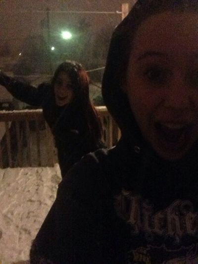 In The Snow With Lonna