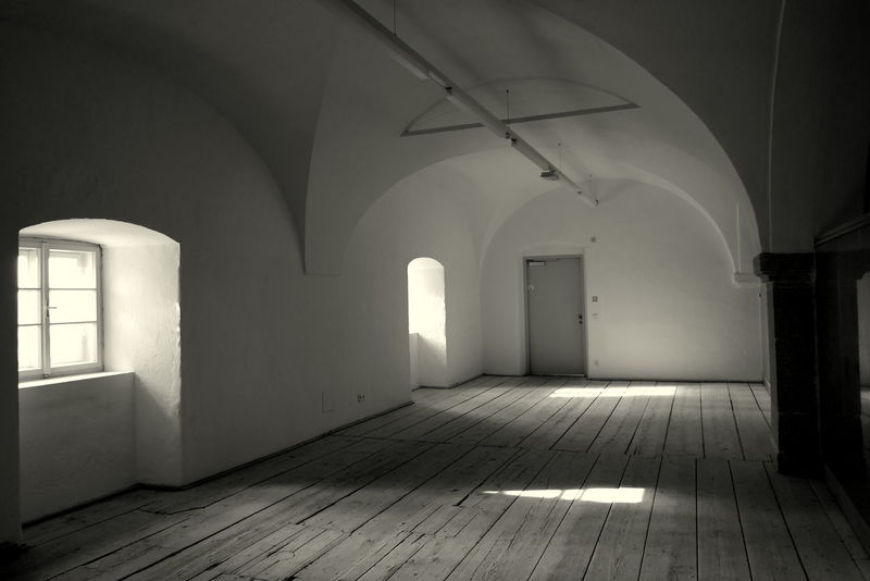 Arch Architecture Austria Beer Black And White Blackandwhite Photography Brewery Brewing Beer Ceiling Floor Flooring Freistadt Indoors  Old Pattern Shadow Wall - Building Feature