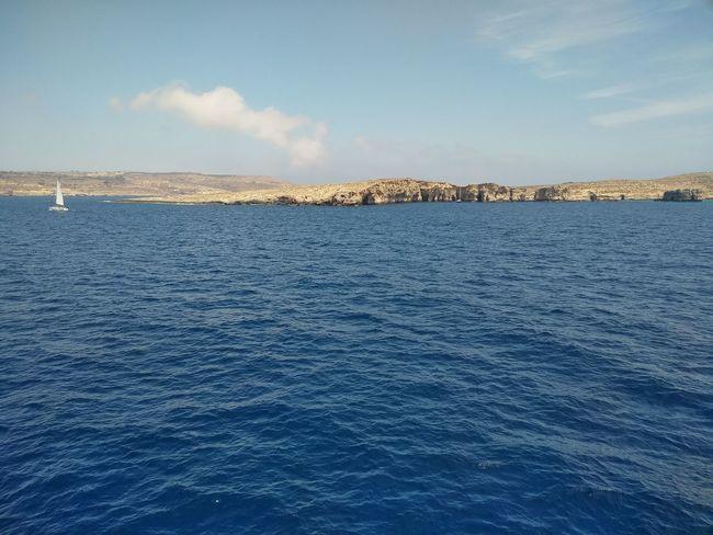 Comino Island Malta Malta Mediterranean  Mediterranean Sea Blue Comino Day Island Sea Sky Tranquility Water