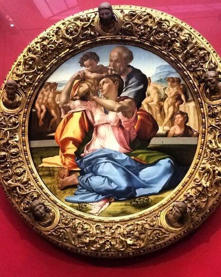 """""""Tondo Doni"""", Michelangelo"""