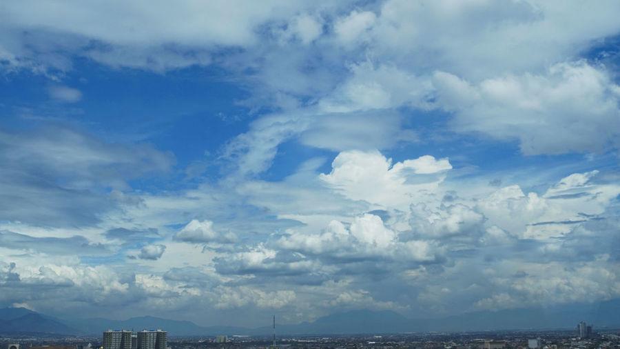 Cloud - Sky Blue Dramatic Sky Sky No People City Outdoors Urban Skyline Day Nature Sony Ilce 5000