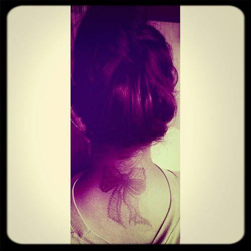 Henna Tattoo ❤ Ribbon (: Henna Inspired Henna Tattoo