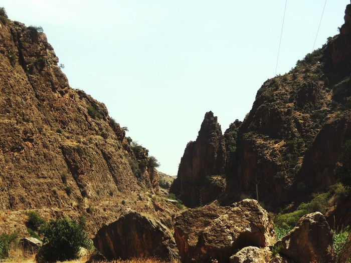 Rock style Nature Mountain Physical Geography Beauty In Nature Rock - Object Landscape Scenics Tranquility Clear Sky Sky Day No People Outdoors Morocco EyeEm Gallery Nikon EyeEmNewHere EyeEm Best Shots Travel Tranquility New Talents New To EyeEm Beauty In Nature Traveling EyeEm Nature Lover