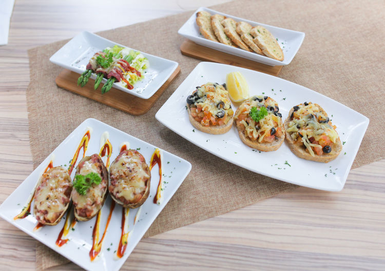 appetizers Close-up Day Food Food And Drink Freshness Garnish Healthy Eating Indoors  Meal No People Plate Ready-to-eat