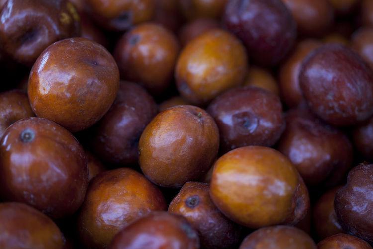 Full Frame Shot Of Figs