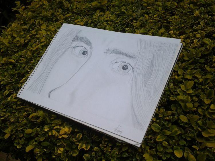 Mi dibujo de esos ojos que amo! Los ojos de Jared!:3 Jared Leto Drawing Art My Art