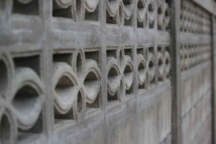 Thai style wall