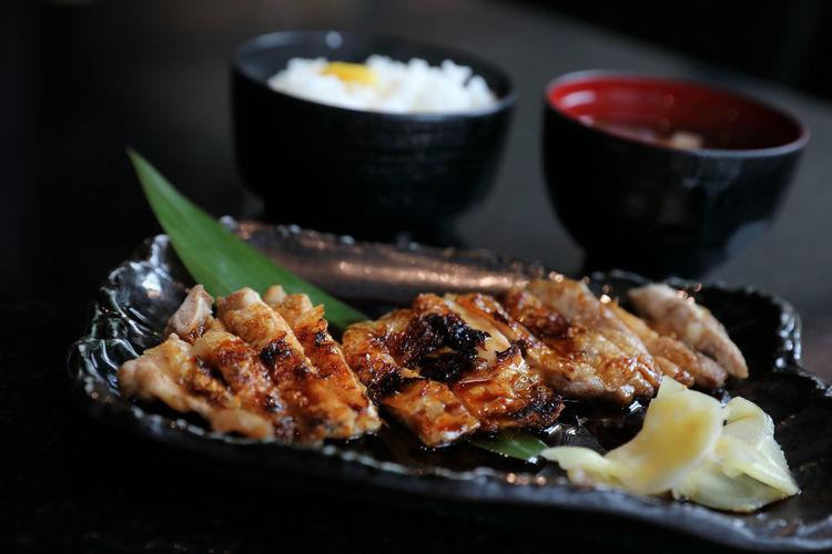 Chicken Teriyaki Teriyaki Food Food And Drink Ready-to-eat Meat Healthy Eating Serving Size Vegetable Meal Chicken Meat Japanese Food