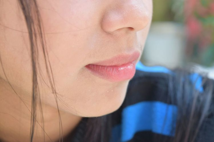One Woman Only Only Women One Person Adult Close-up Adults Only Headshot People Human Body Part Outdoors Human Lips Young Adult One Young Woman Only Young Women Human Face Lips Pink Lips Smile Cute Lips Chapped Lips Christmas Be. Ready. EyeEmNewHere Crafted Beauty AI Now EyeEm Ready   Inner Power