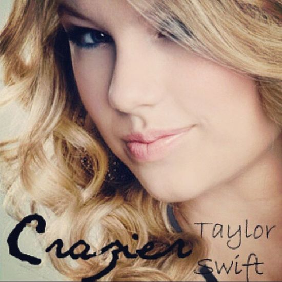 Not a big fan of country music but this girl sure makes me change my mind shes amazing... Taylorswift Crazier Countrymusic