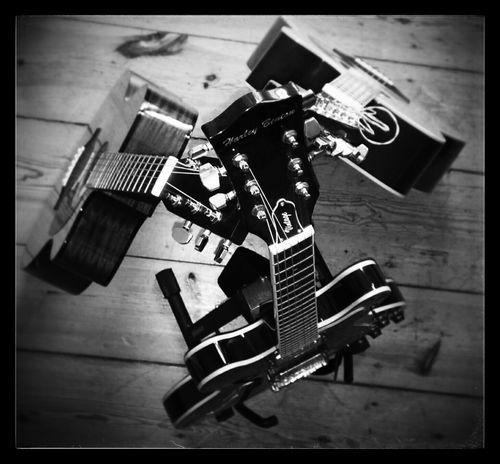 'Three Is A Magic Number' My Guitars