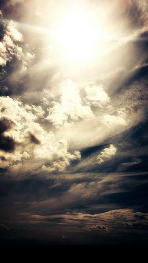 Clouds And Sky Sunshine Divine Light  Cloud Porn