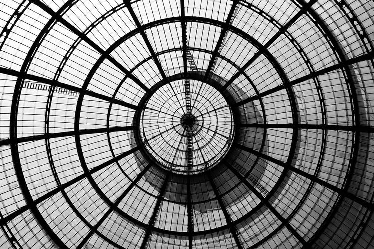 Architectural Design Architectural Feature Architecture Architecture And Art Built Structure Ceiling Circle Close-up Concentric Day Design Directly Below Dome Geometric Shape Glass - Material Indoors  Low Angle View Majestic Modern Pattern Monochrome Photography Repetition Sky TakeoverContrast Transparent