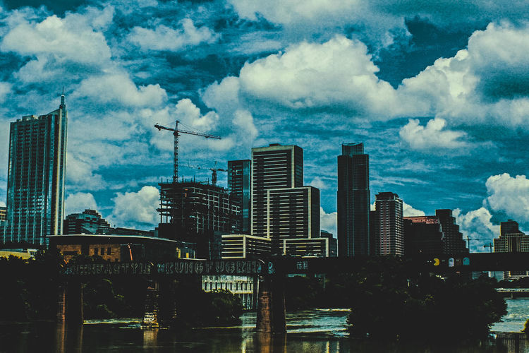 Cityscapes 🏢AustinTx. Skyscraper Architecture Building Exterior City Urban Skyline Cloud - Sky Cityscape Modern Built Structure Sky Outdoors Downtown District Day No People Travel Destinations Growth EyeEmNewHere Live For The Story Week On Eyeem Colors Color Blockıng Landscape Urban Photography Citiscape, City Landscape