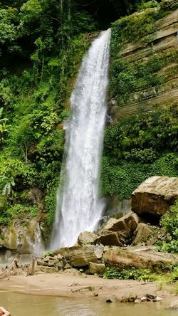 Madhabkunda waterfall is one of the largest waterfalls in Bangladesh. It is situated in Barlekha Upazila in Moulvibazar District, Sylhet Division. The waterfall is a popular tourist spot in Bangladesh. Waterfall Water Sylhet Natural Beauty Madhabkunda, Moulavibazar BeautifulBANGLADESH