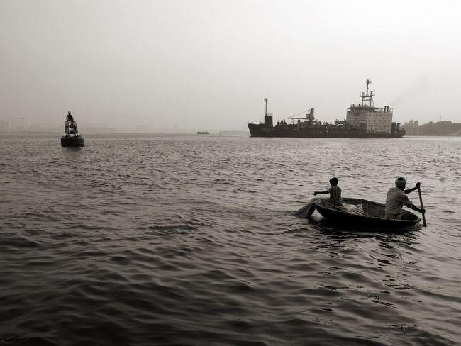 Transportation Nautical Vessel Mode Of Transport Water Outdoors Sea Day Men Nature People Kerala Fishing