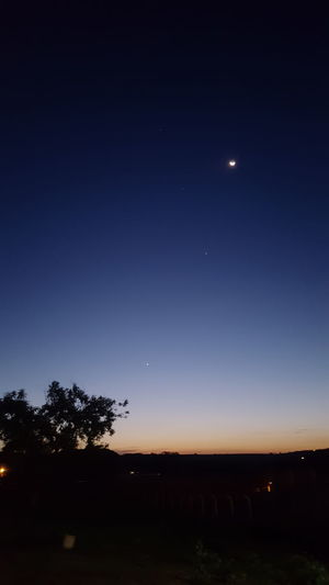 Lonely Star Beautiful Sky Lonely Star Stars Spring Sky Sunset Spring Sunset Sunset Astronomy Space Galaxy Star - Space Constellation Crescent Tree Clear Sky Moon Half Moon