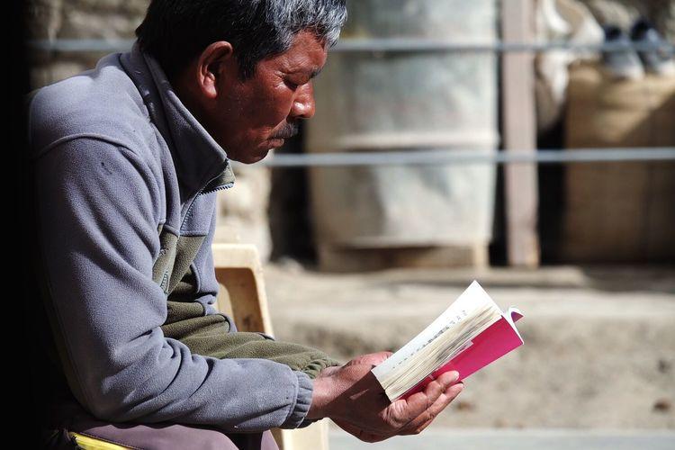 The guesthouse owner India Leh Ladakh LehLadakh Northern India The Street Photographer - 2016 EyeEm Awards