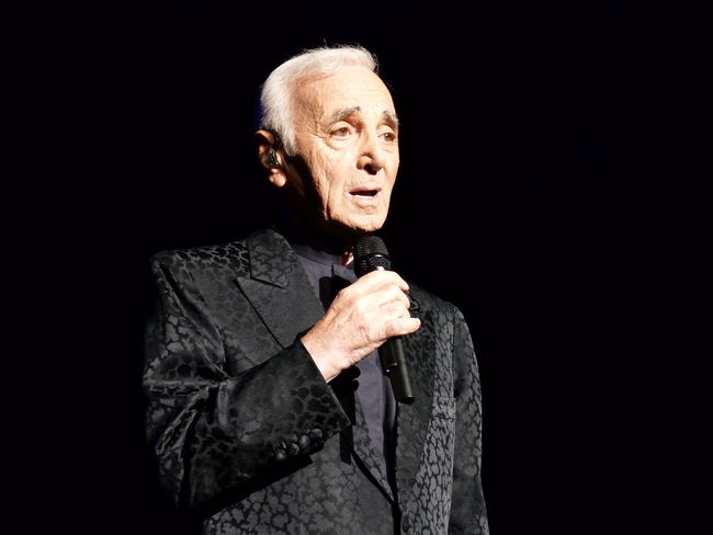 Photos by Jeannie Buxo Aznavour Charles Aznavour  French Singer La Boheme Live, Love, Laugh September 2014 She Song Writer First Eyeem Photo