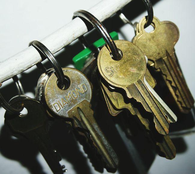 Keys on a ring...on a rod. Projectaz Keys 365 Photoproject Day11