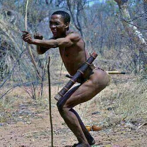 Bush man from south africa the greatest hunters ever they never miss