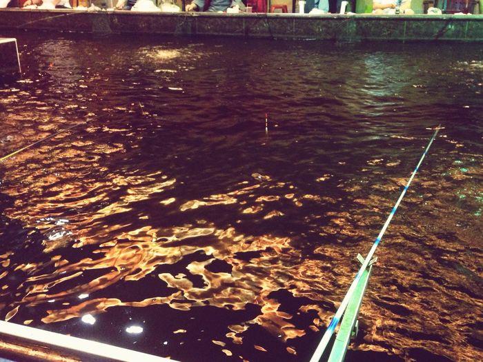 修身養性,慢慢來也很好! Shrimp Fishing Slowly Time Waiting